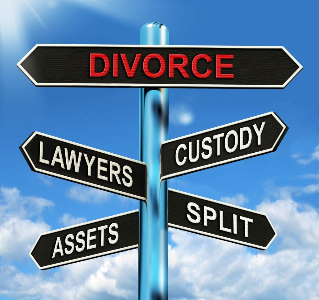 when filing for divorce talk to a NJ lawyer first